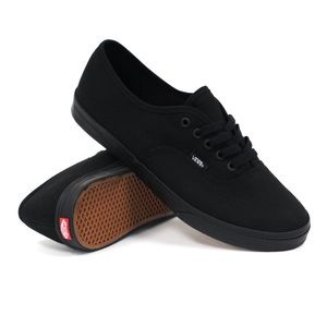 womens all black vans